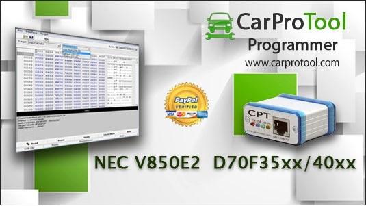 Renesas NEC V850E2 D70F35xx D70F40xx. FLUR0RTX Connection type